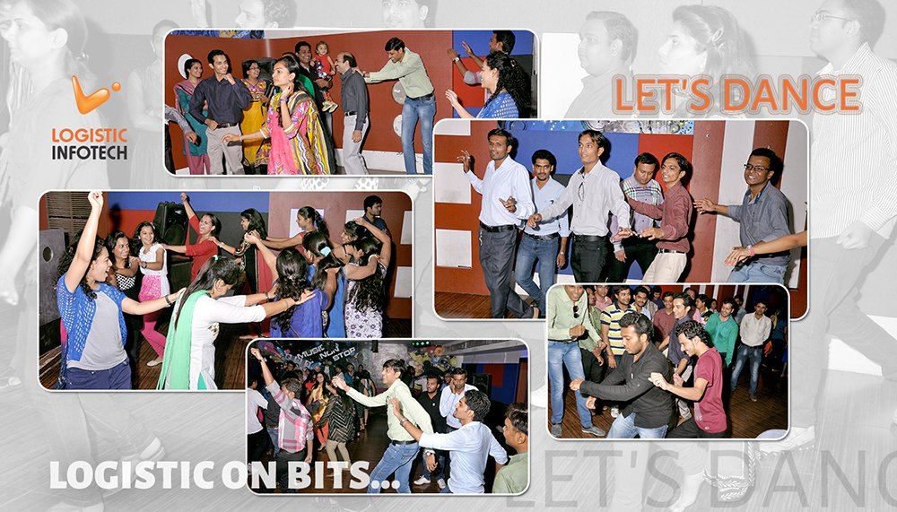 Logistic Infotech Party Dance