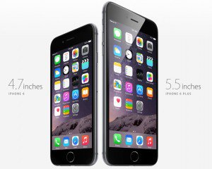iPhone 6 and iPhone 6 Plus Display