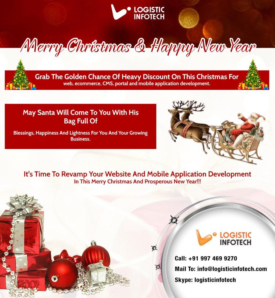 Logistic Infotech Christmas Offer