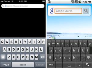 iOS Vs Android Keypad