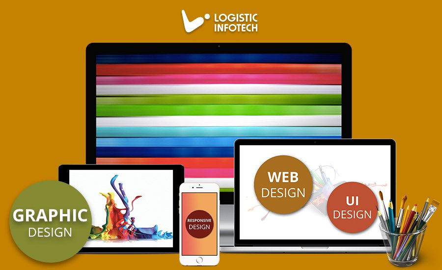 Logistic Infotech Graphic Designing