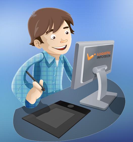 Logistic Infotech_ Web Designer or Mobile Designer