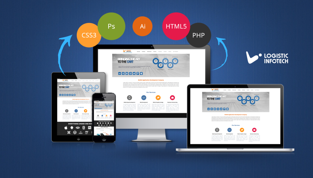 Logistic Infotech_Web and Mobile Designing