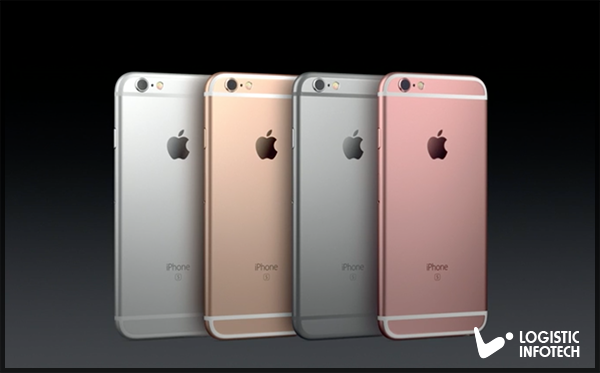 iPhone 6S and iPhone 6S Plus Color and Screen by Logistic Infotech