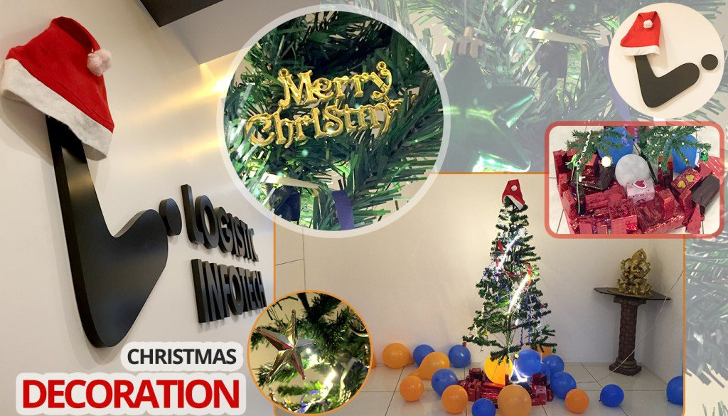 Christmas Decoration_Logistic Infotech