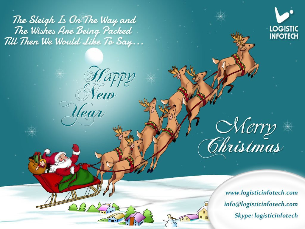 Merry Christmas & Prosperous New Year From Logistic Infotech