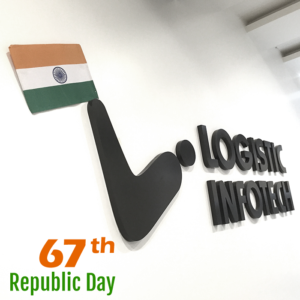 67th Republic Day Celebration at Logistic Infotech Pvt. Ltd.