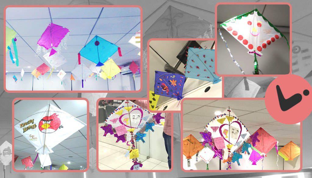 Kite Decoration_Logistic Infotech Pvt Ltd