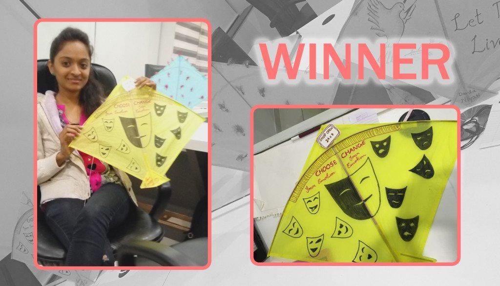 Winner Of Kite Decoration Competition_Logistic Infotech Pvt Ltd