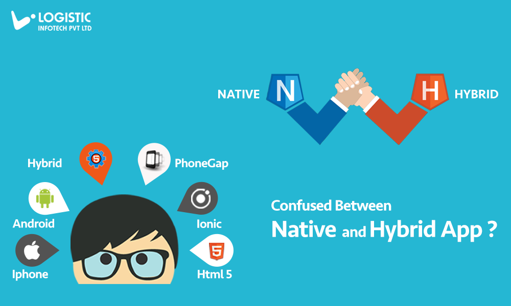 Native And Hybrid Application