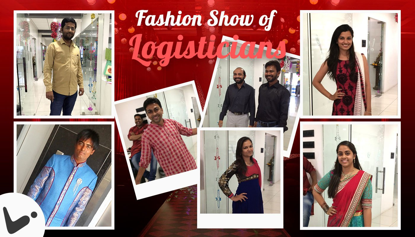 Fashion Show of Diwali Celebration Event at Logistic Infotech