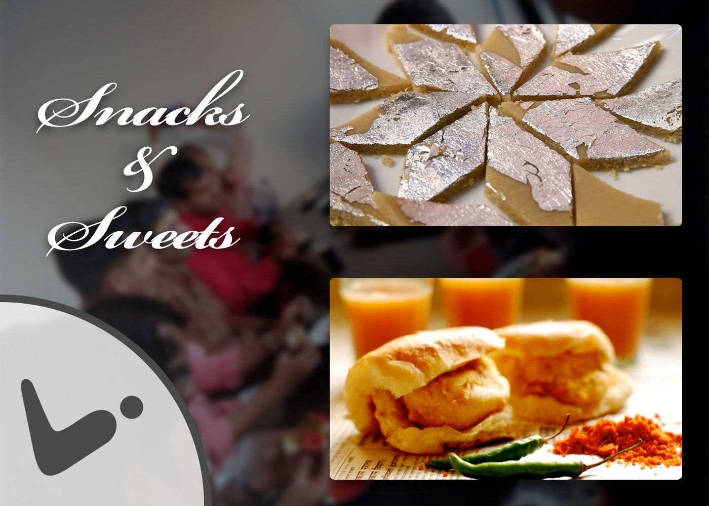 Snacks and Sweets for Diwali Celebration Event at Logistic Infotech