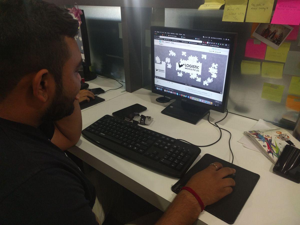 Web Development Company Game Session