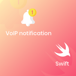 VoIP notification with Swift-square