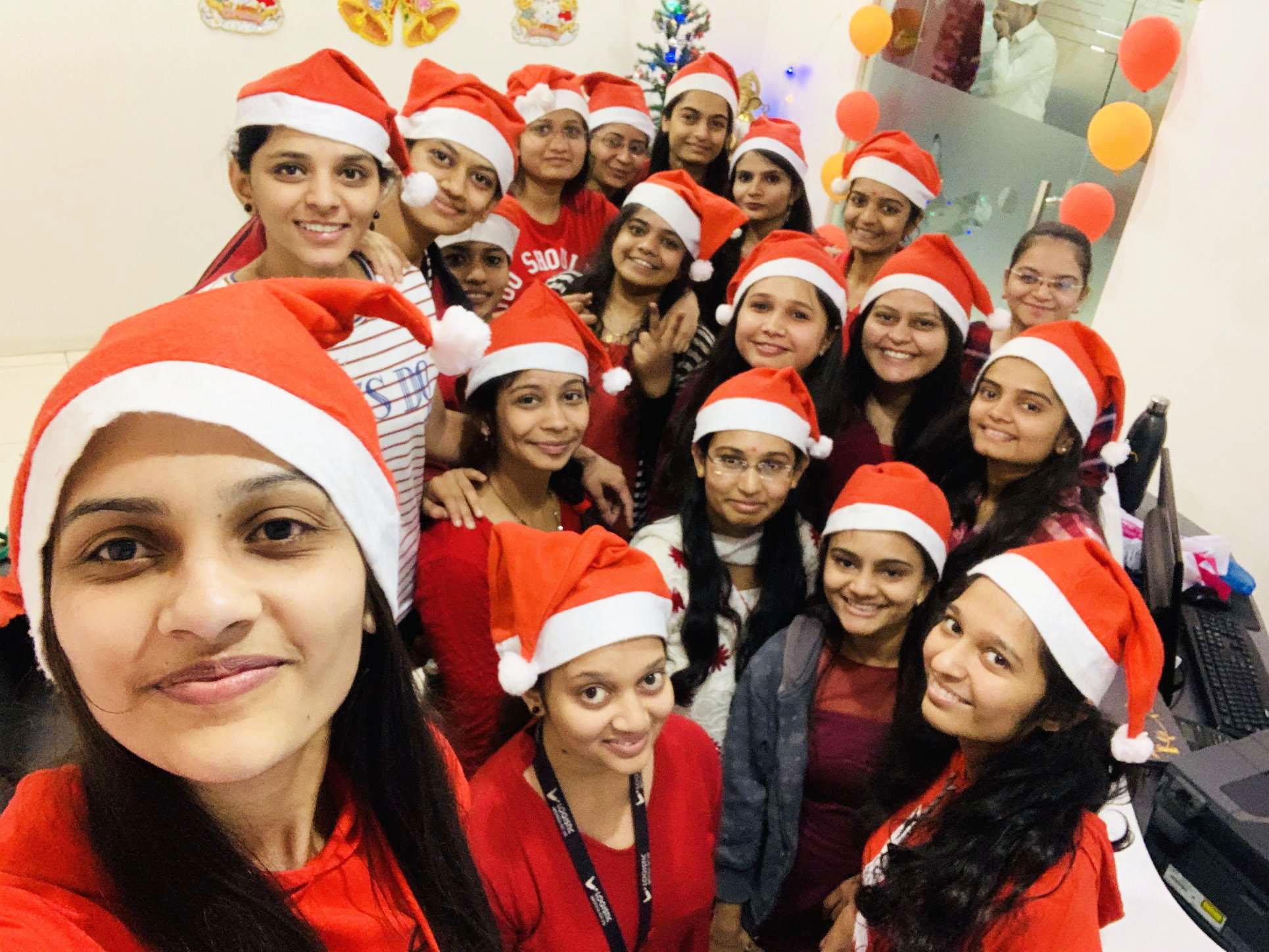 Santa at Logistic Infotech