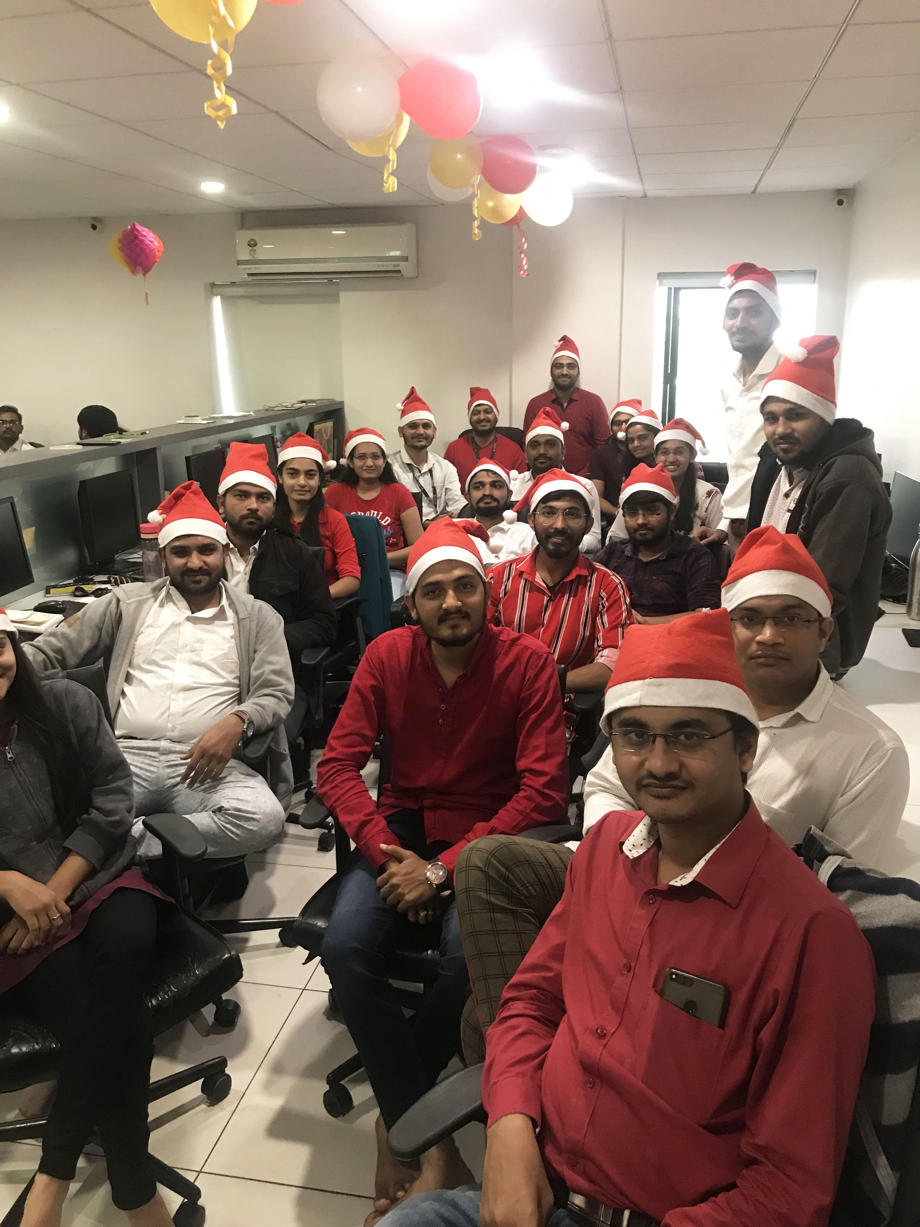 XMas Celebrations at Logistic Infotech