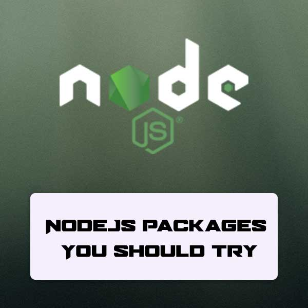 node js packages